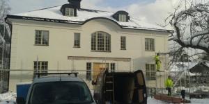 putsfasad på nyproduktion Djursholm (5)
